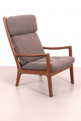 Ole Wanscher senator high back fauteuil